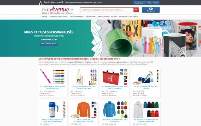 Création site Internet E-commerce