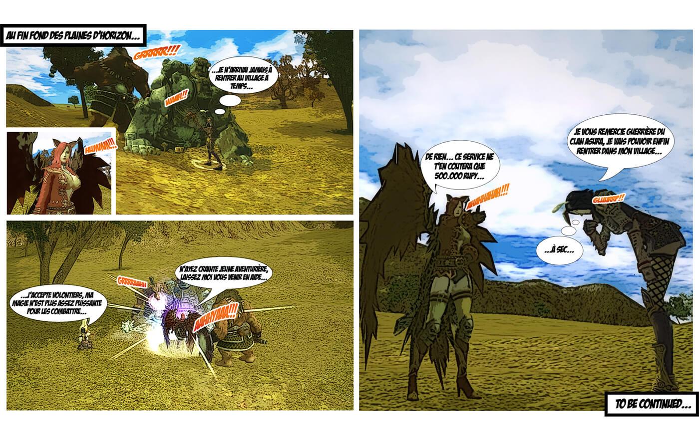 BD web magazine jeux vidéo
