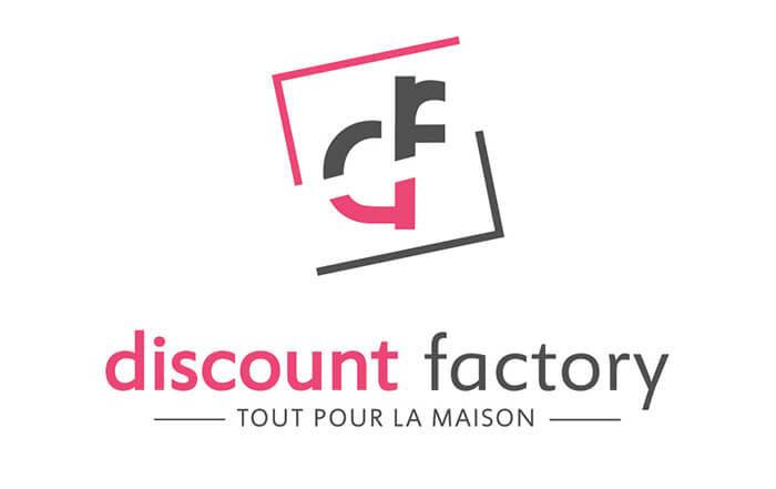 Logo société Discount-factory