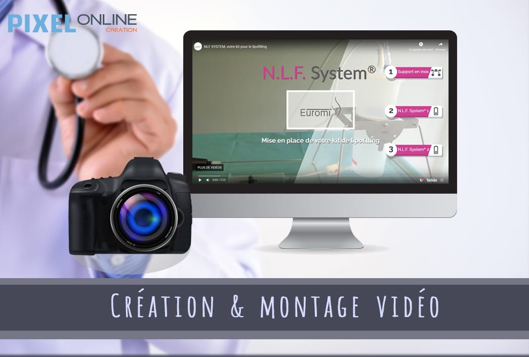 Création et montage de vidéos : Cerecare / Euromi