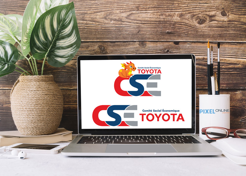 Création de logo Toyota