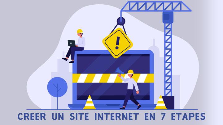 Créer un site internet en 7 étapes